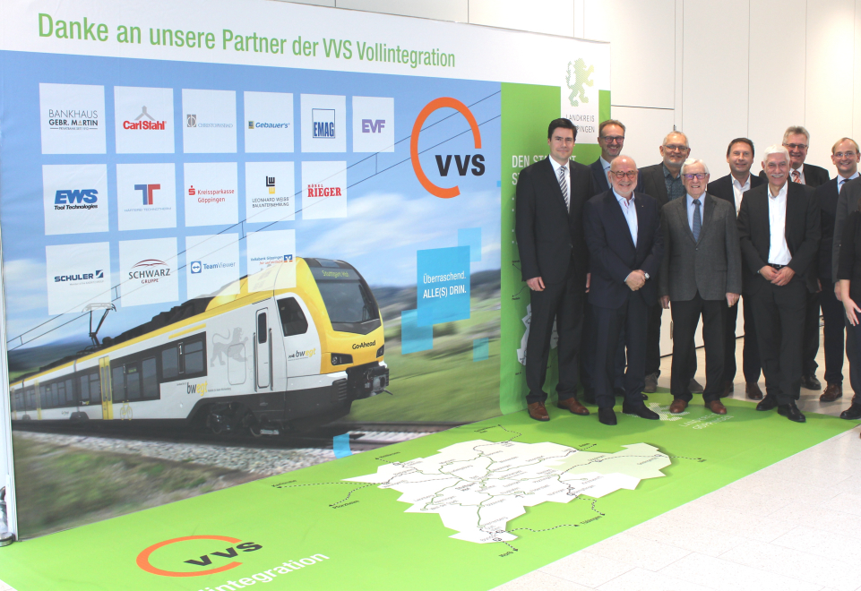 VVS full integration of the district of Goeppingen - Carl Stahl supports advertising campaign for launch