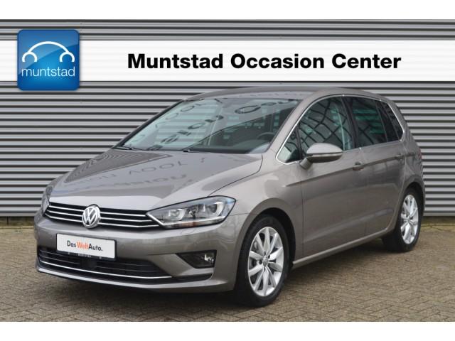 Volkswagen Golf sportsvan 1.4 tsi 125 pk dsg automaat highline navigatie pdc xenon 17 inch lm velgen