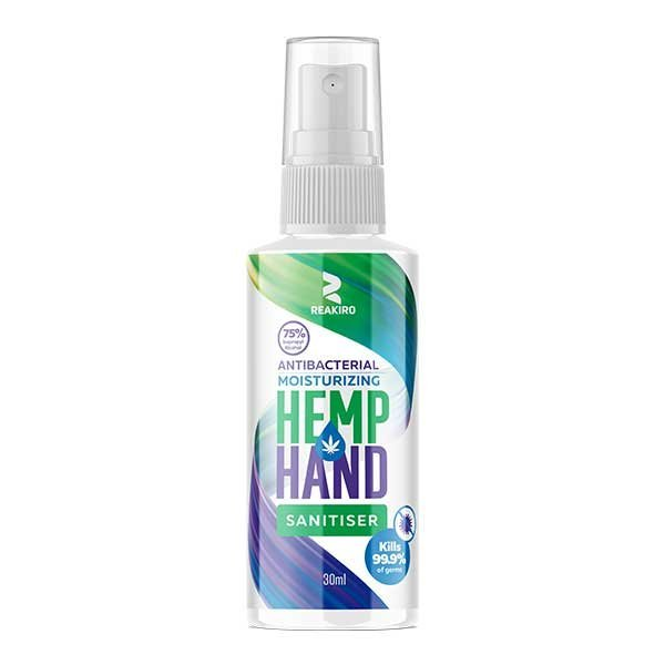 Hemp Hand Sanitiser Spray 30ml