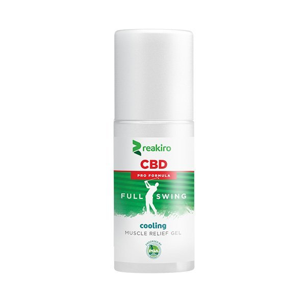 CBD Golf Pro Formula Muscle Relief Gel Cooling