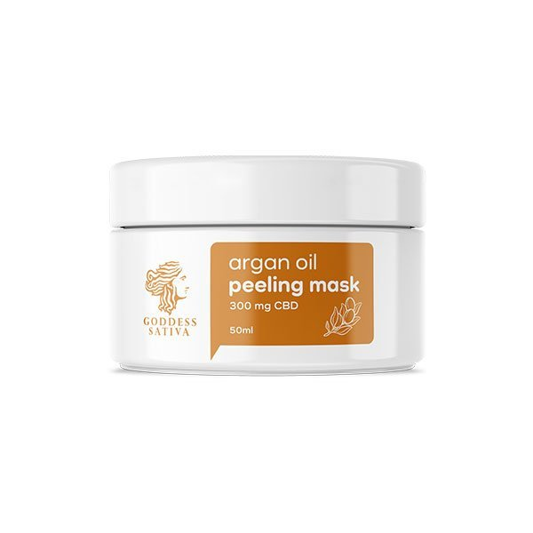 CBD Facial Argan Peeling Mask