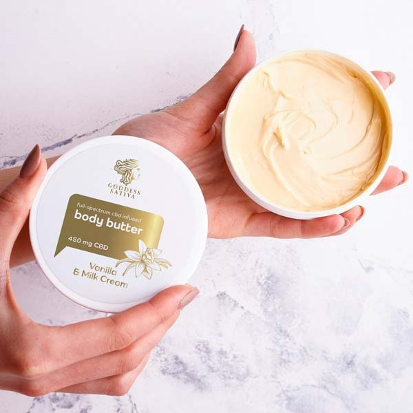 Body Butter Vanilla Milk Cream 450 mg