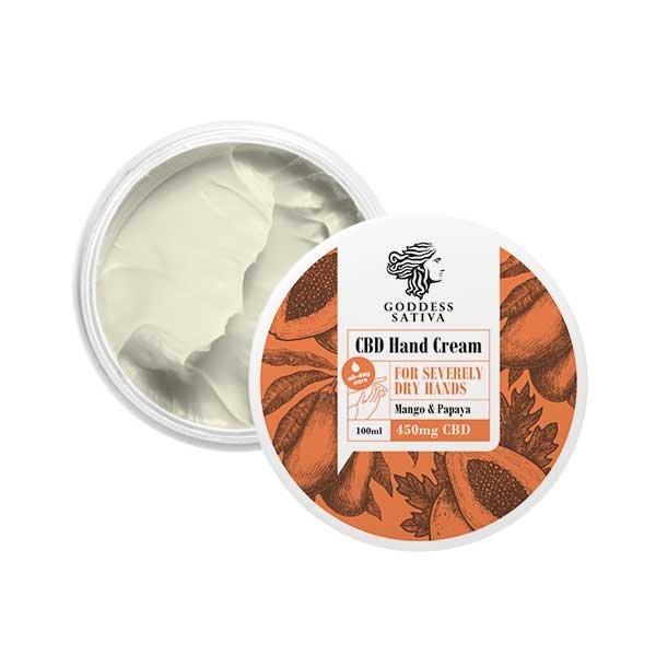 Hand cream for dry hands 450mg CBD, 100 ml
