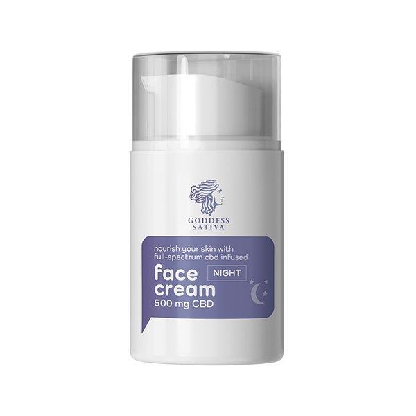 Nourishing Night Face Cream 500 mg