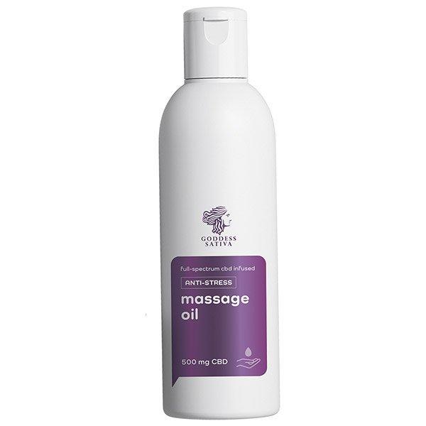 Massage Oil Anti-stress 500 mg CBD, 200 ml