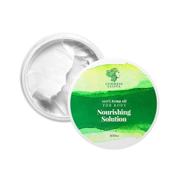 Hemp Oil Nourishing Solution Body Cream