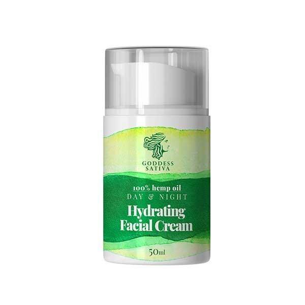 Hemp Oil Hydrating Facial Cream