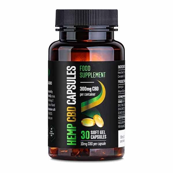 CBD Gel Capsules 300 mg 30 pcs