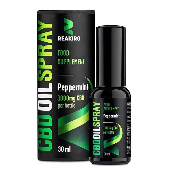 CBD Oil Spray Peppermint 1000 mg