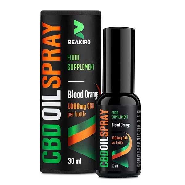 CBD Oil Spray Blood Orange 1000 mg