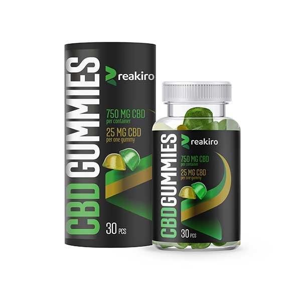 CBD Gummies 750 mg 30 pcs