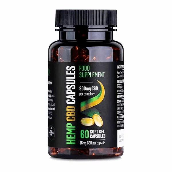 CBD Gel Capsules 900 mg 60 pcs