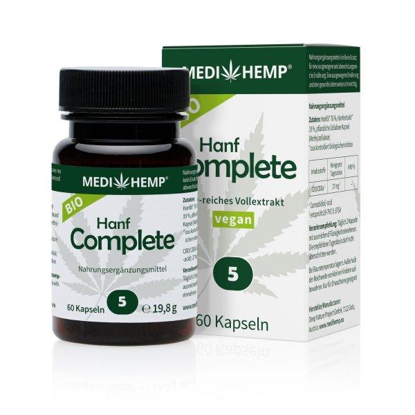 Organic Hemp Complete Capsules 5%
