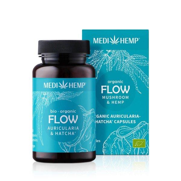 Organic FLOW Auricularia HATCHA® Capsules