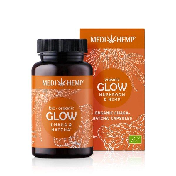Organic GLOW Chaga HATCHA® Capsules