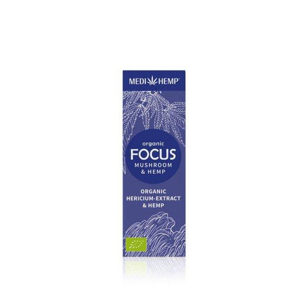 Organic FOCUS Hericium Extract & Hemp