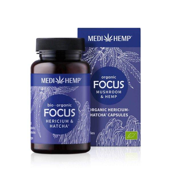Organic FOCUS Hericium HATCHA® Capsules