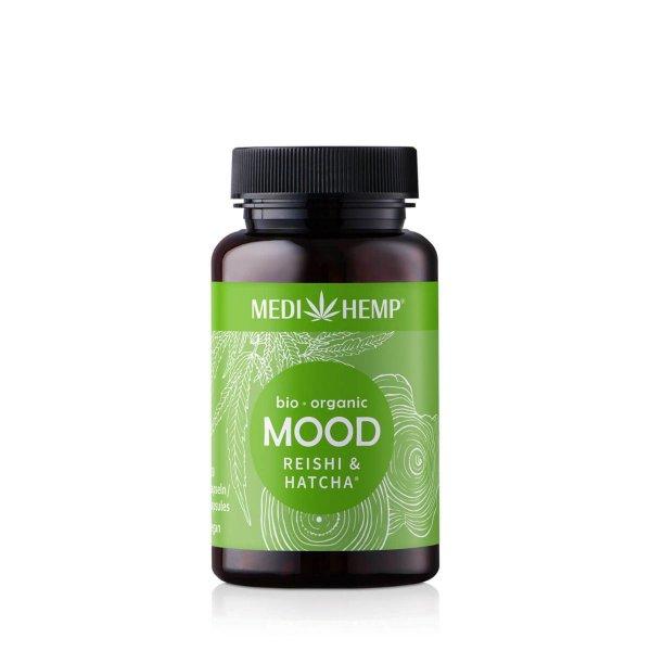 Organic MOOD Reishi HATCHA® Capsules