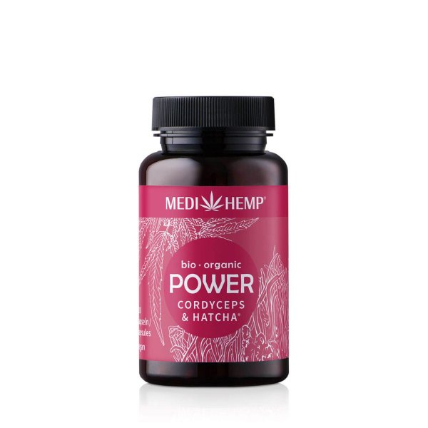 Organic POWER Cordyceps Militaris HATCHA® Capsules