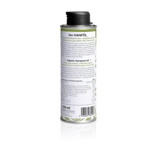 Organic Hempnut Oil 250ml