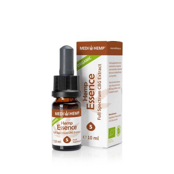 Organic Hemp Essence 5% with CBG