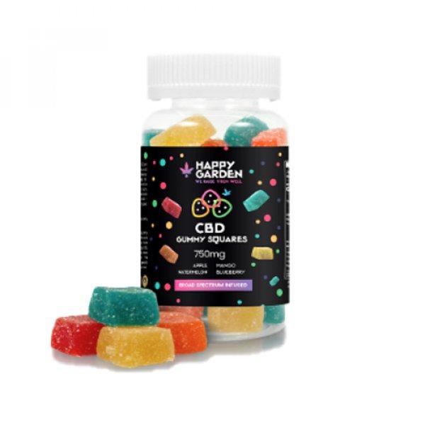 CBD Infused Gummies 750mg – 25mg Per Gummy