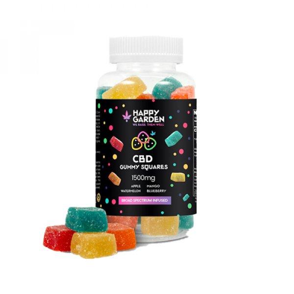 CBD Infused Gummies 1500mg – 25mg Per Gummy
