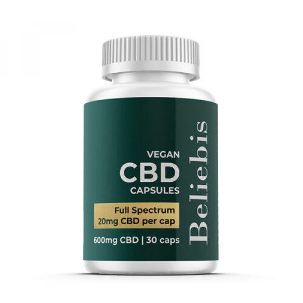 20mg Full Spectrum CBD Oil Capsules