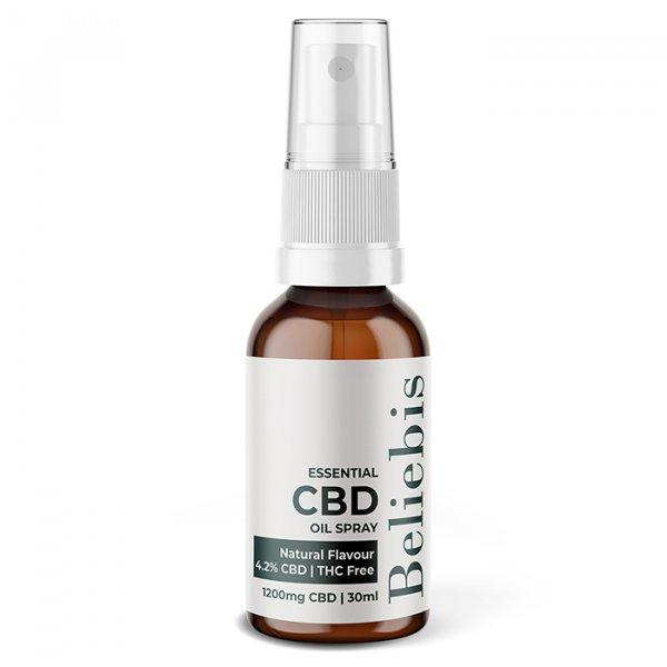 CBD Oil Spray Natural Flavour