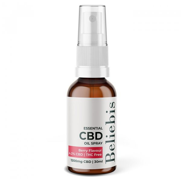 CBD Oil Spray Berry Flavour