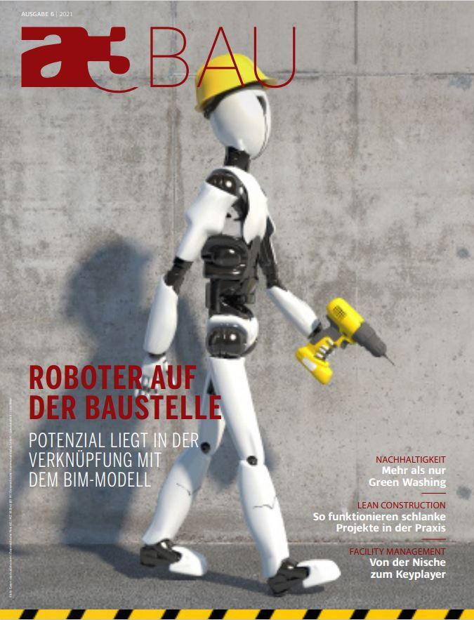 Roboter auf Zeitschriftencover