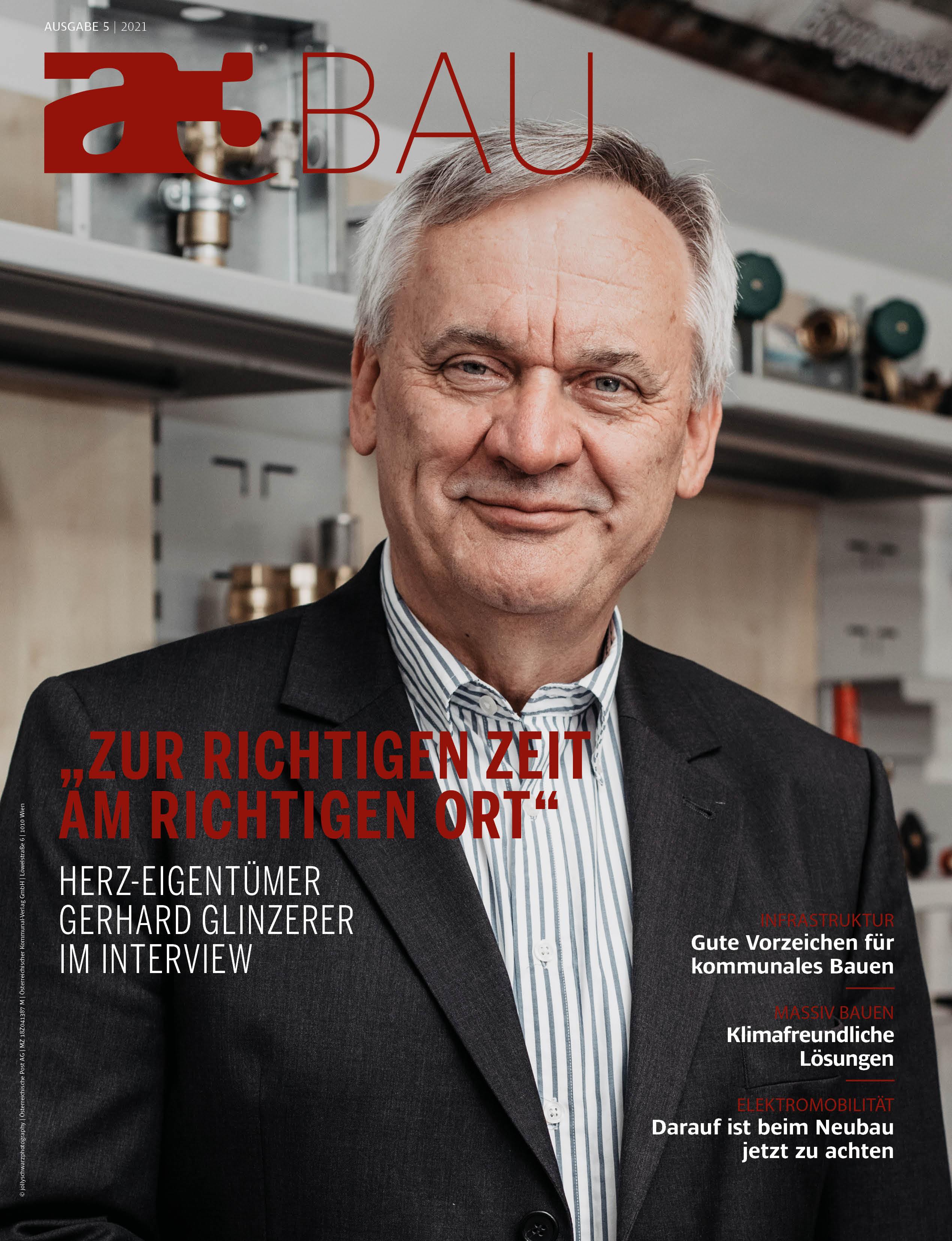 Cover mit Mann