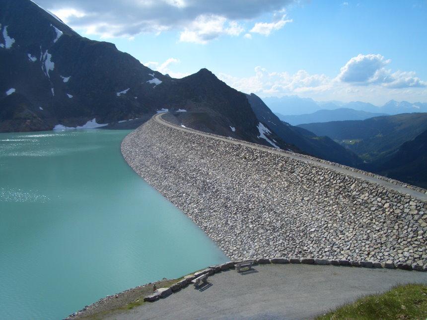 Staudamm Finstertalersee