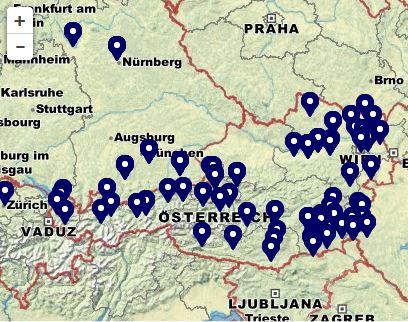 BAustofflieferung Gebiet österreich
