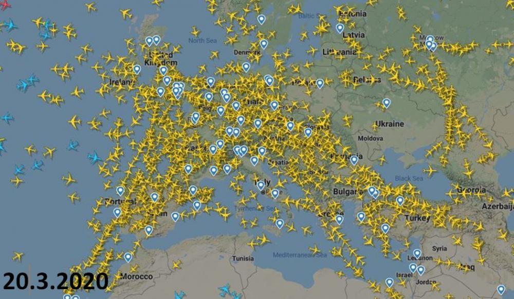 Flugverkehr a3bau
