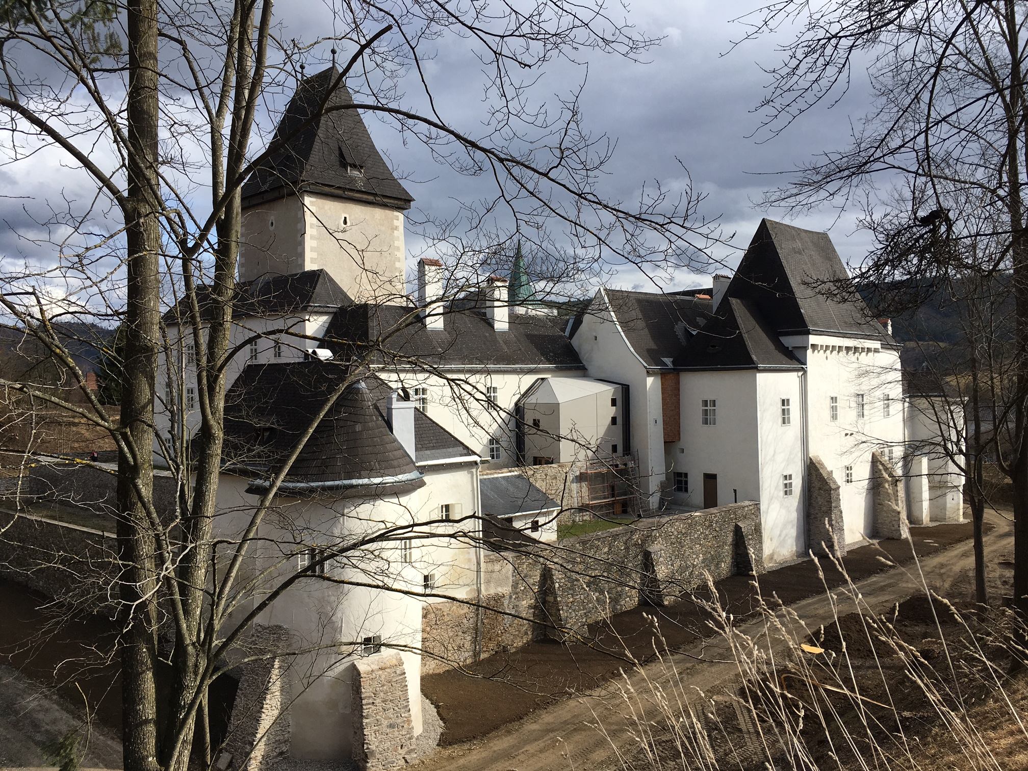 Schloss Rogendorf Pöggstall a3bau
