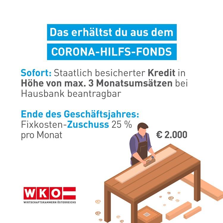 Corona Hilfsfonds Tischler