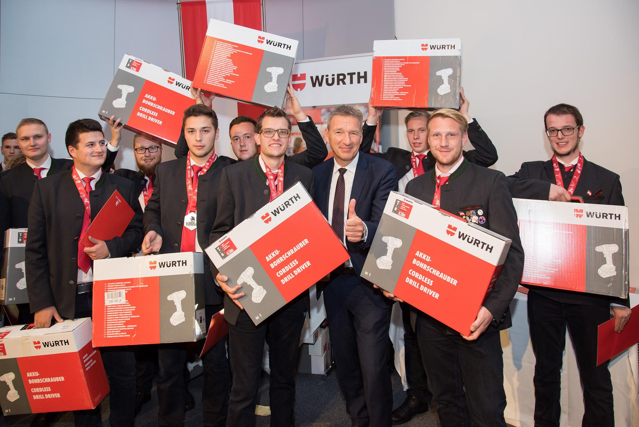 Würth Euro Skills a3bau