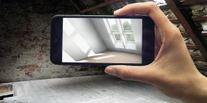 Handy App Dachflächen