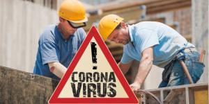 Coronavirus Baustelle a3bau
