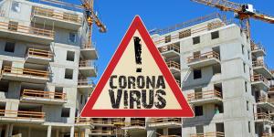 Corona Baustelle