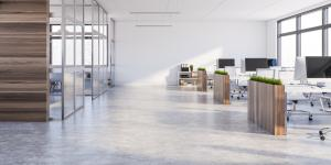 Bürogebäude Coronavirus