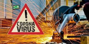 Bauarbeiter Corona