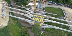 Lafnitztalbrücke Klappbrücke