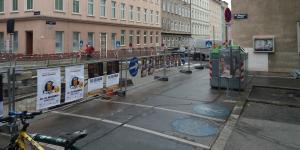 Häuserzeile in Wien
