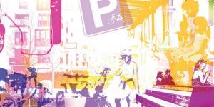 Collage zum Thema Mobilität