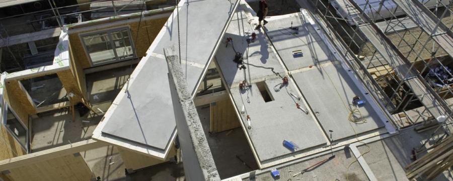 Kirchdorfer Holz-Beton-Verbunddecke