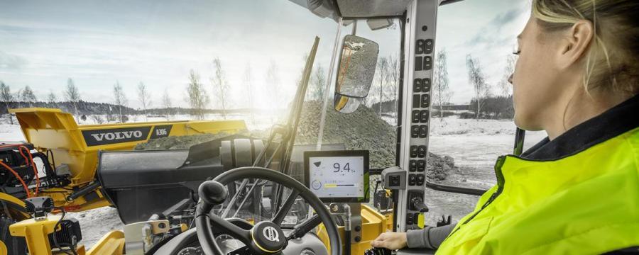 Baumaschinen Volvo Load Assist
