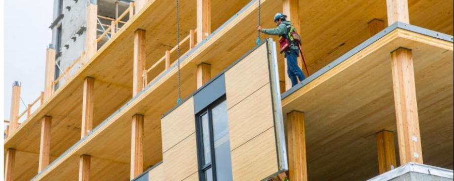 Vorfertigung im Holzbau