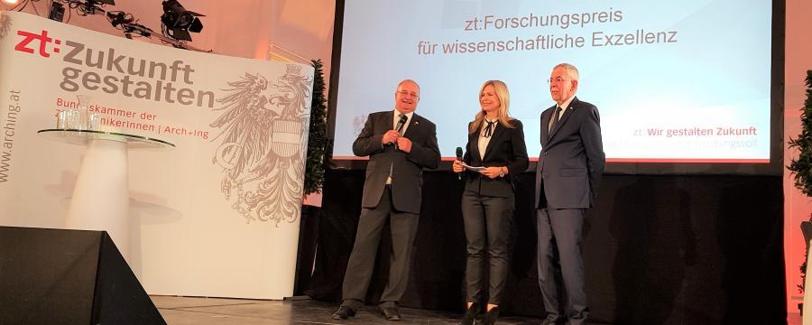 Preisverleihung Forschungspreis a3bau